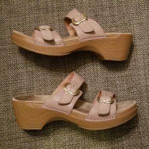 Dansko taupe sandals sz 43